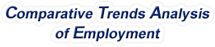 Oregon - Comparative Trends Analysis of Total Employment, 1969-2017