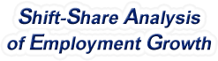 Shift-Share Analysis of Oregon Employment Growth and Shift Share Analysis Tools for Oregon